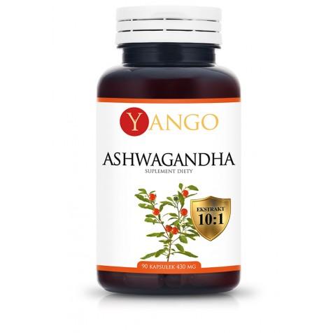 Ashwagandha - 90 kapsułek - ekstrakt 10:1