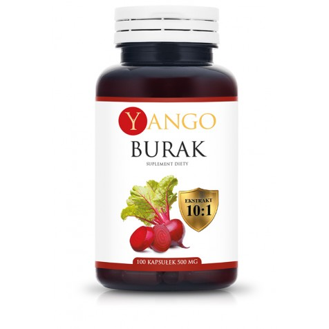 Burak - ekstrakt - 100 kapsułek
