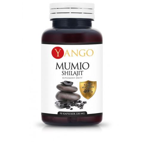 Mumio - 40% kwasów fulwowych - 90 kapsułek