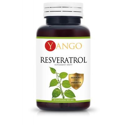 Resveratrol z piperyną - 30 kapsułek